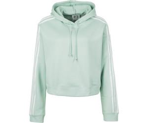 Adidas Kurzes Sweatshirt Cropped weiß
