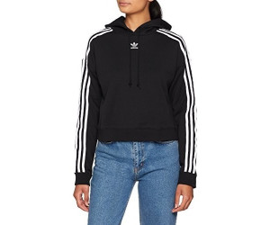 Adidas Women's Originals Cropped Hoodie black (EJ8537) ab
