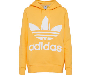 Buy Adidas Trefoil Hoodie Women Chalk Orange Dh3138 From 3699