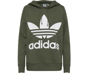 Adidas Originals Trefoil Hoodie Damen base green (DH3139) ab