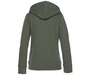 Adidas Originals Trefoil Hoodie Damen base green (DH3139) ab