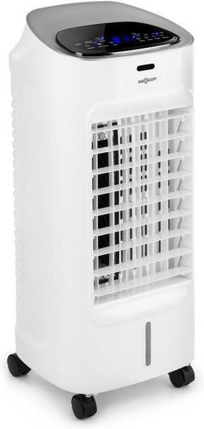 oneConcept Coolster • Refrigerador de aire 4 en 1 • Ventilador • Enfriador • Ionizador • Humidificador • 65 W • 320 m³/h • Depósito 4 L • Temporizador