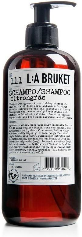 L:A Bruket Shampoo Zitronengras No. 111 (450ml)