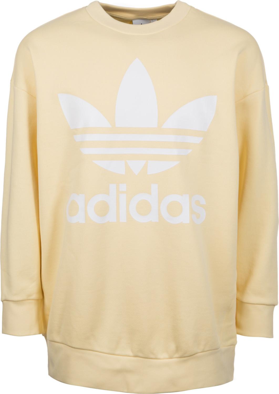 Adidas Trèbol Sobre Sudadera de Hombre Amarilla