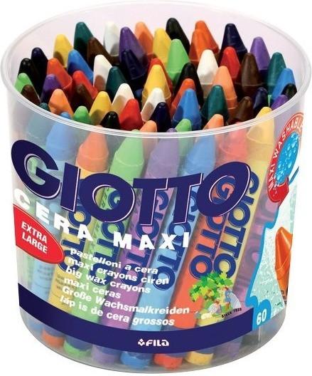 Giotto Cera Maxi 60 pastelli a cera