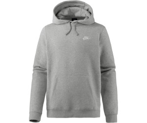felpa nike dark grey heather hoodie
