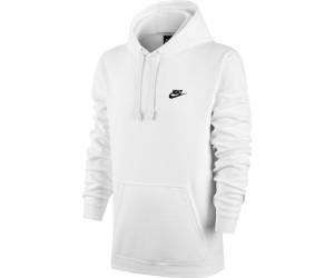 half off 14658 5de24 Buy Nike Club Fleece Hoodie white (804346-100) from £34.00 ...