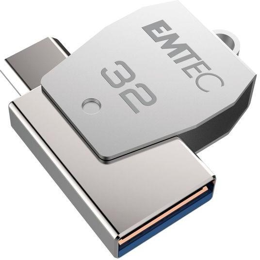 EMTEC ECMMD32GT252B Dual USB2.0 micro-USB T250 32GB - USB-Stick - 32 GB