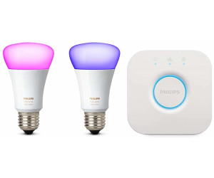 Hue E27 Philips Starter Color Rgbw Kit Ambiance X White 2 10w Ab And F1TKlJc
