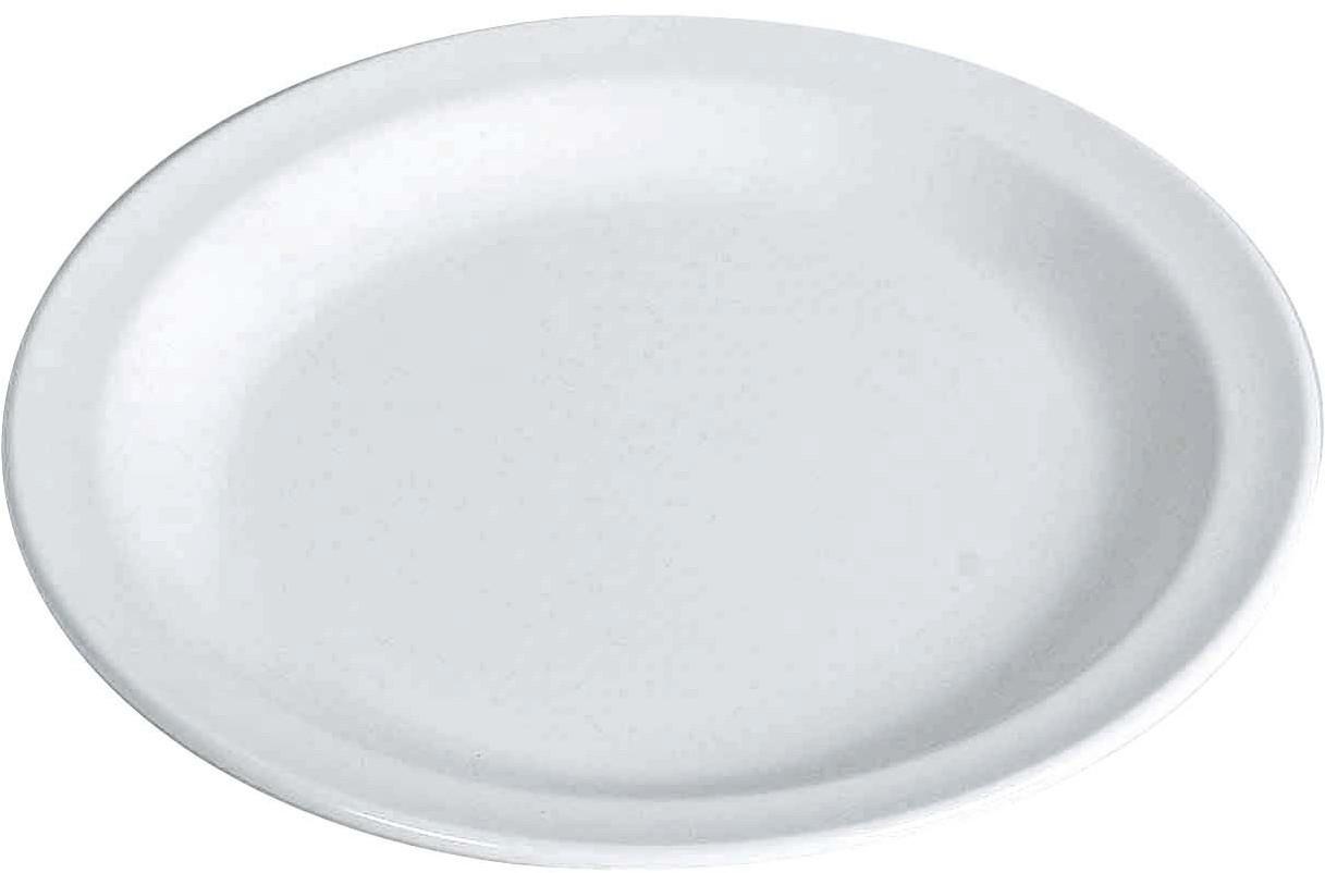 WACA Teller Flach (weiß)