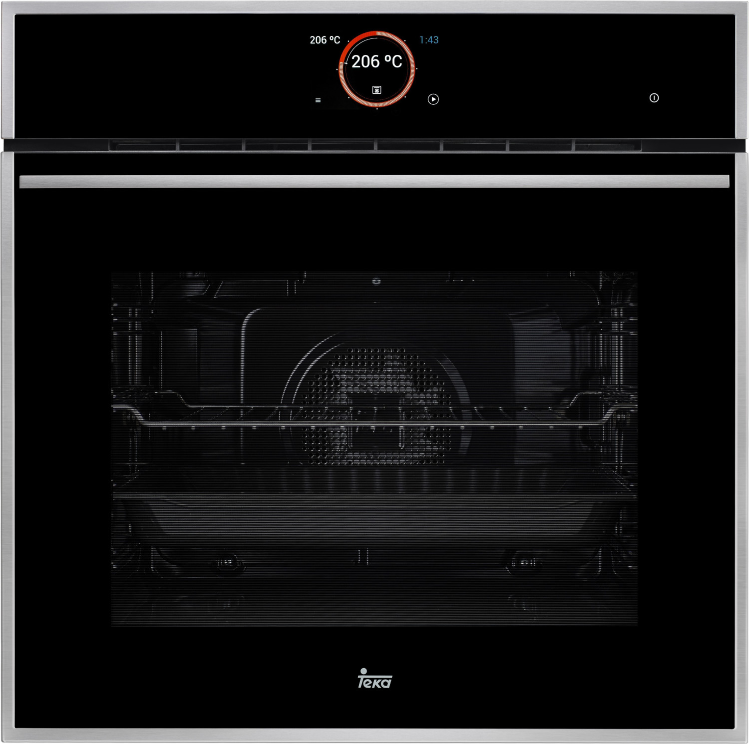 HORNO INDEPENDIENTE MULTIFUNCION TEKA IOVEN SS CLA.A+,INOX