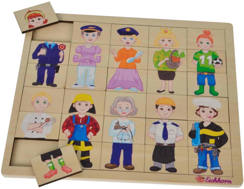 Eichhorn Mix und Match Puzzle