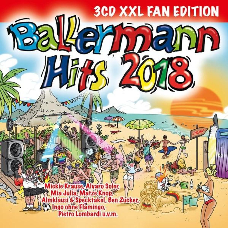 Ballermann Hits 2018 (XXL Fan Edition) (CD)