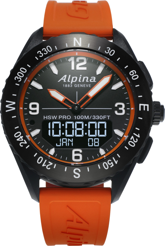 Image of Alpina AlpinerX Bluetooth Smartwatch Orange