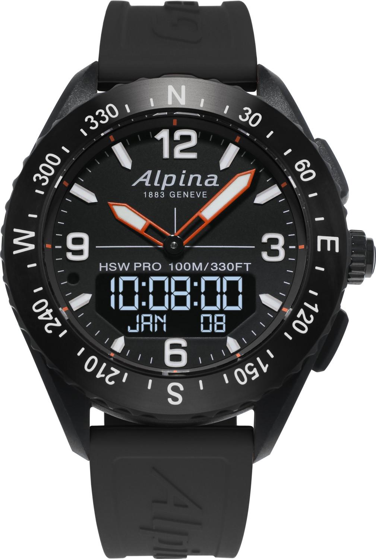 Image of Alpina AlpinerX Bluetooth Smartwatch Black