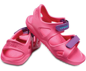 3fb8417e7cb Buy Crocs Swiftwater River Kids paradise pink amethyst from £15.96 ...