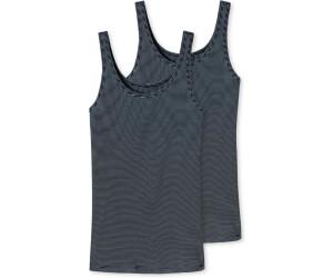 2er Pack Schiesser Modal Essentials Trägertop mit breiten Trägern Shirt 162896