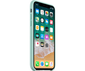 coque silicone iphone x turquoise