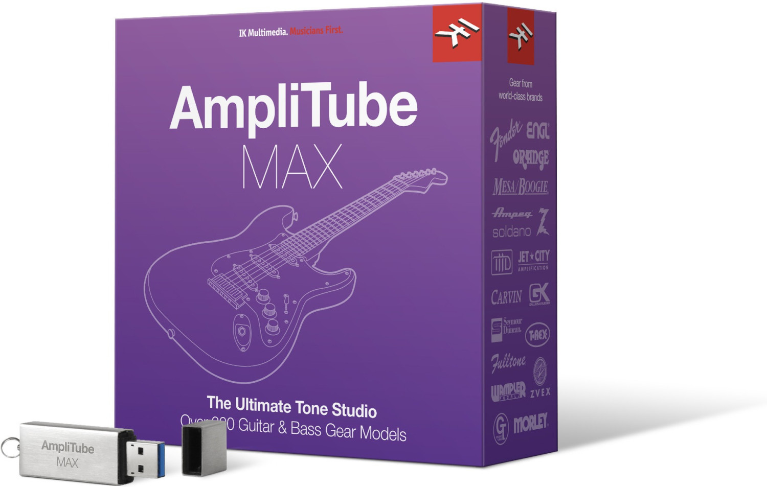 Image of IK Multimedia AmpliTube MAX