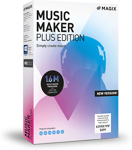 Image of Magix Music Maker 2019