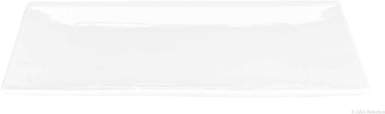 ASA Atable Teller quadratisch weiß 17 x 17 cm