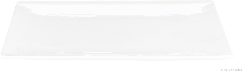 ASA Atable Teller quadratisch weiß 23 x 23 cm