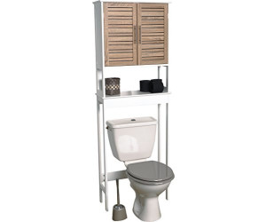 Tendance Badezimmerregal über Toilette gealterte Eiche ...