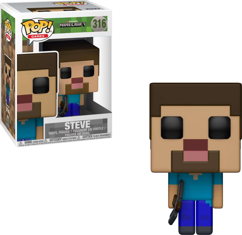 Funko Pop! Games: Minecraft- Steve