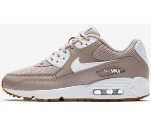 Nike Air Max 90 Wmns diffused taupe gum light brown white white ab ... 7e967f0e7