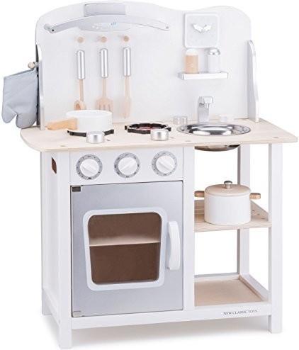 New Classic Toys Küchenzeile Bon Appetit weiß
