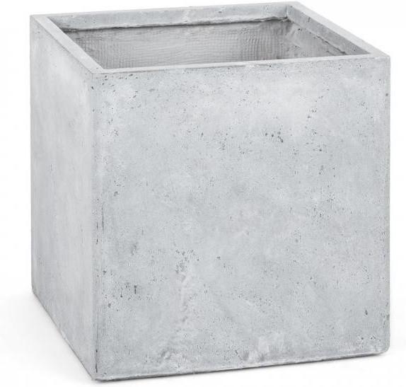 Blumfeldt Solidflor Pflanzkübel weiß