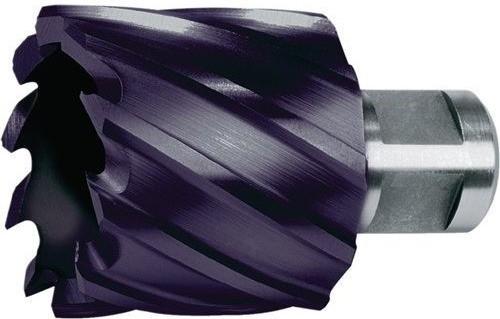 Ruko 108250F Broca Hueca HSS TiAIN, Futura vástago Weldon (50 mm)