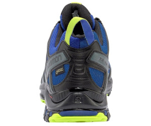 7cec89b3cab4 Salomon XA Pro 3D GTX Running Shoes mazarine blue wil black lime green