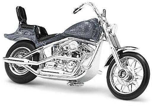 Busch Model Amerikanisches Motorrad (grau)