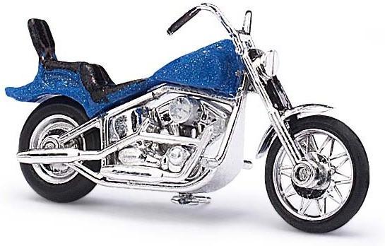 Busch Model Amerikanisches Motorrad (blau)