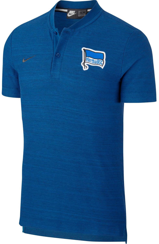 Nike Hertha BSC Poloshirt 2018/2019 gym blue-gy...