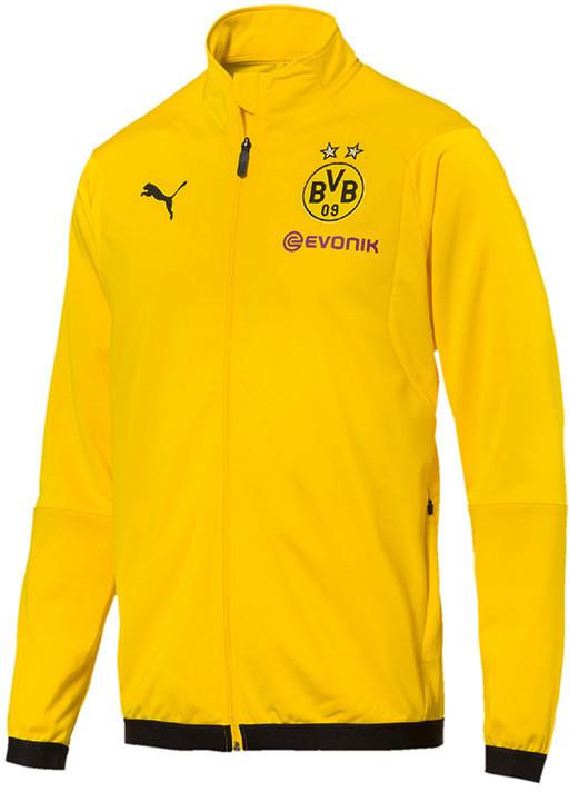 Puma Borussia Dortmund Jacke 2018/2019 gelb