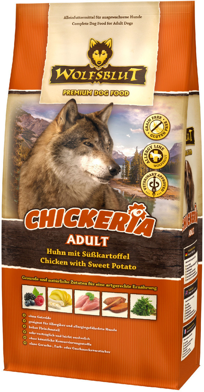 Wolfsblut Chickeria mit Huhn & Süßkartoffel 500 g
