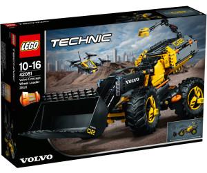 lego technic 2 in 1 volvo konzept radlader zeux 42081. Black Bedroom Furniture Sets. Home Design Ideas