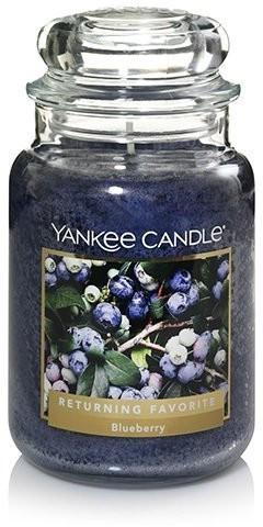 Yankee Candle Blueberry Große Kerze 623g