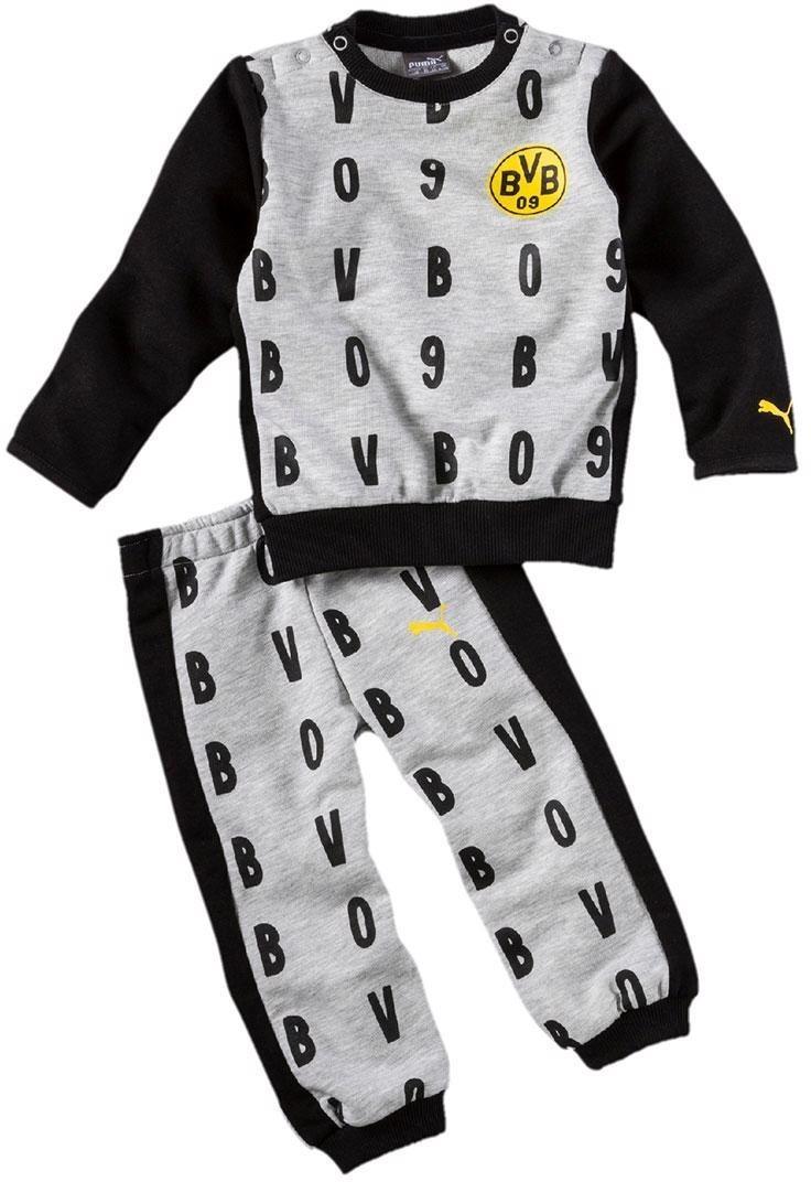 Puma Borussia Dortmund T-Shirt and Joggers 2018...