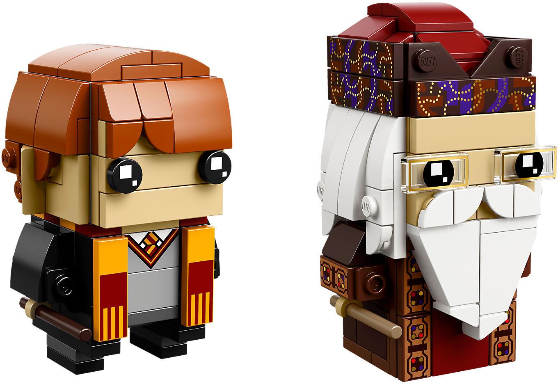 LEGO Brick Headz - Ron Weasley & Albus Dumbledore (41621)