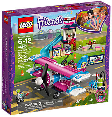 LEGO Friends - La visite en avion d'Heartlake City (41343)