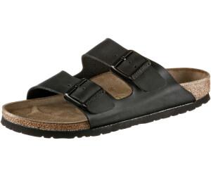 BIRKENSTOCK Arizona Damen Slipper Schwarz Schuhe, Größe:39