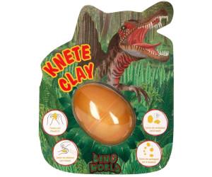 Depesche Springknete Dino World im Ei mit Flashkugel