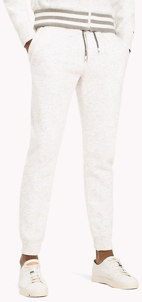Tommy Hilfiger Tapered Fit Sweatpants snow whit...