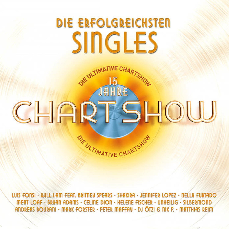Die ultimative Chartshow - 15 Jahre - Die erfolgreichsten Singles (CD)
