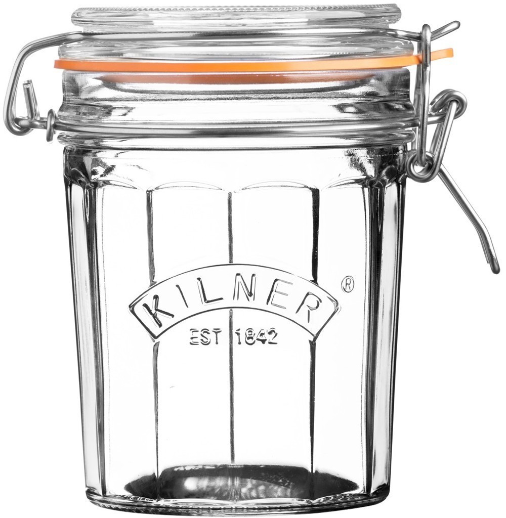 Image of Kilner Facetted Clip Top 450 ml