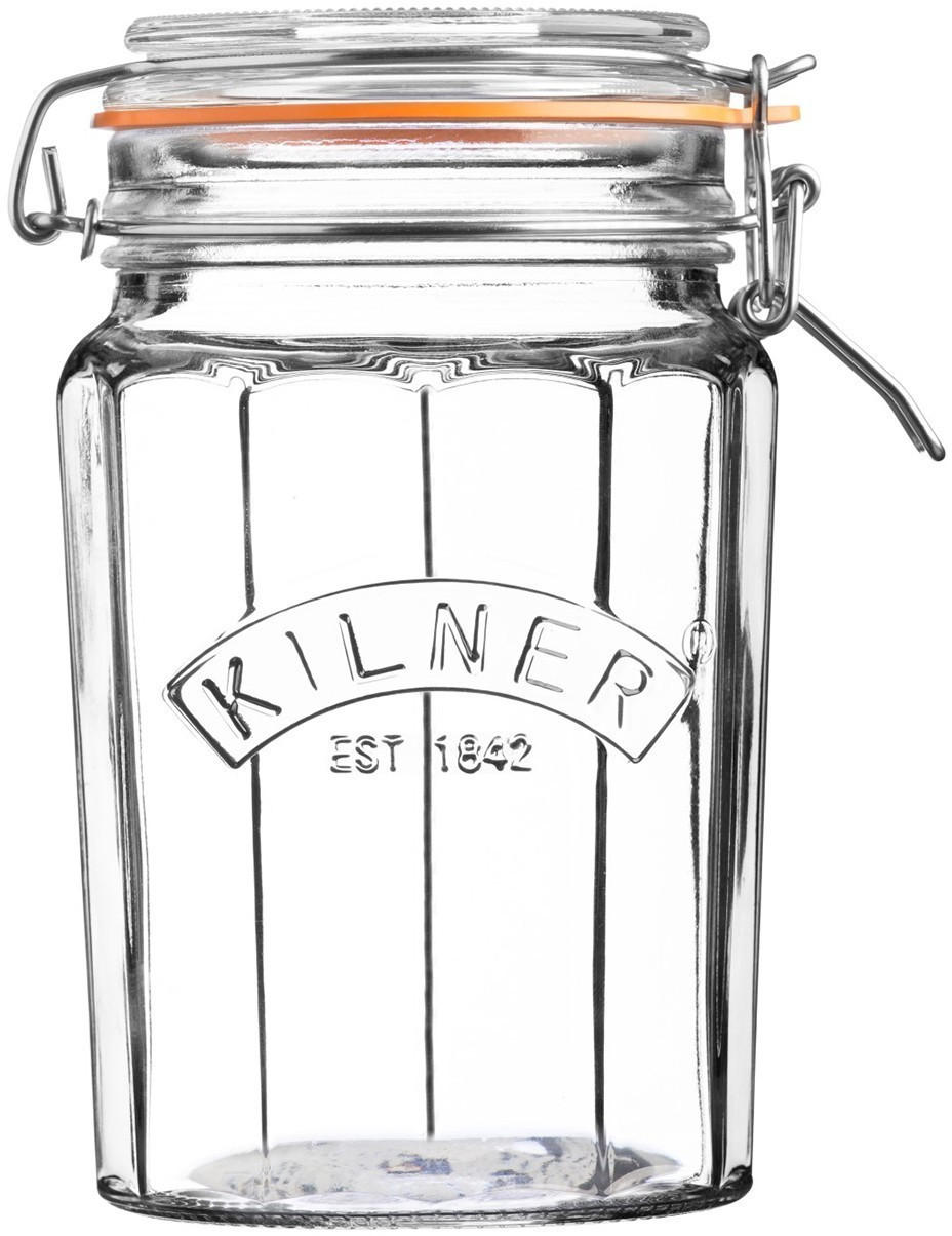 Image of Kilner Facetted Clip Top 950 ml