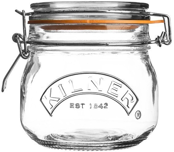 Image of Kilner Clip Top Round 500 ml transparent